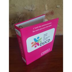 Classeur imprimé en carton rembordé, polypro, pvc soudé